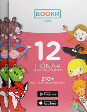 BOOKR Kids Mesetár előfizetés - 12 hónap