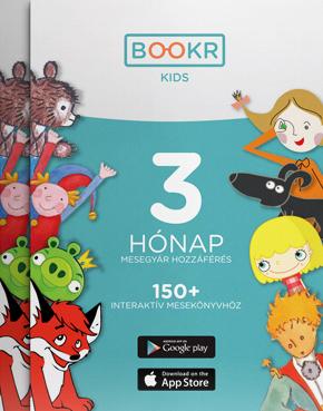 BOOKR Kids Mesetár előfizetés - 3 hónap
