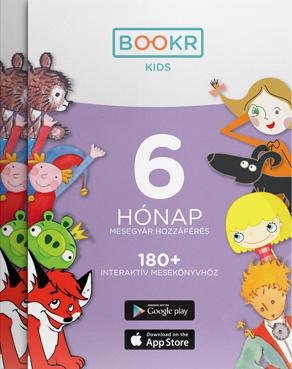 BOOKR Kids Mesetár előfizetés - 6 hónap