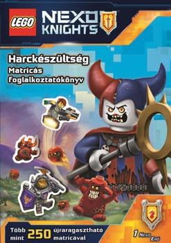 LEGO® NEXO KNIGHTS™ Harckészültség - Matricás foglalkoztatókönyv