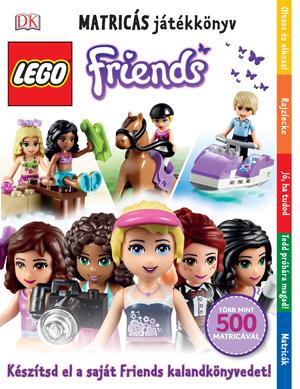 LEGO® Friends Matricás játékkönyv