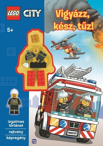 LEGO® City - Vigyázz, kész, tűz