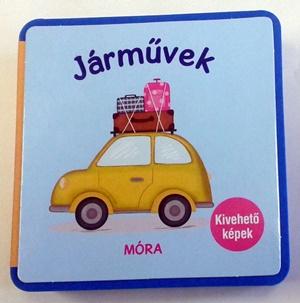 Járművek - habkönyv