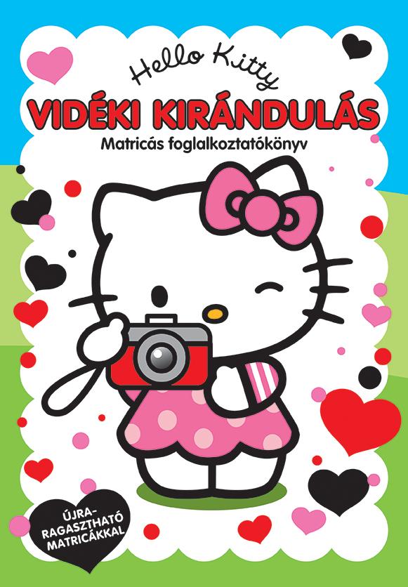 Hello Kitty - Vidéki kirándulás matricás foglalkoztatókönyv