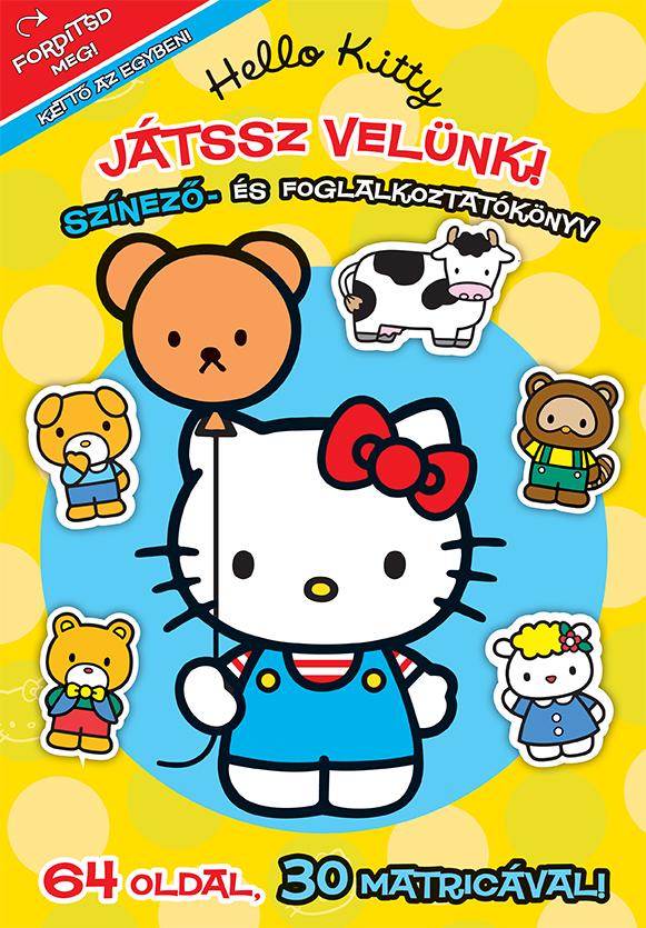 Hello Kitty - Játssz velünk! Színező és foglalkoztatókönyv