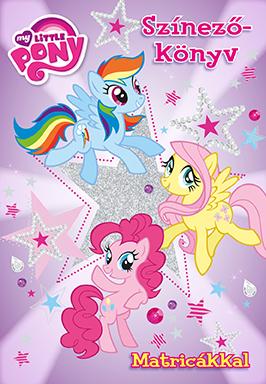 My Little Pony - Színezőkönyv matricákkal