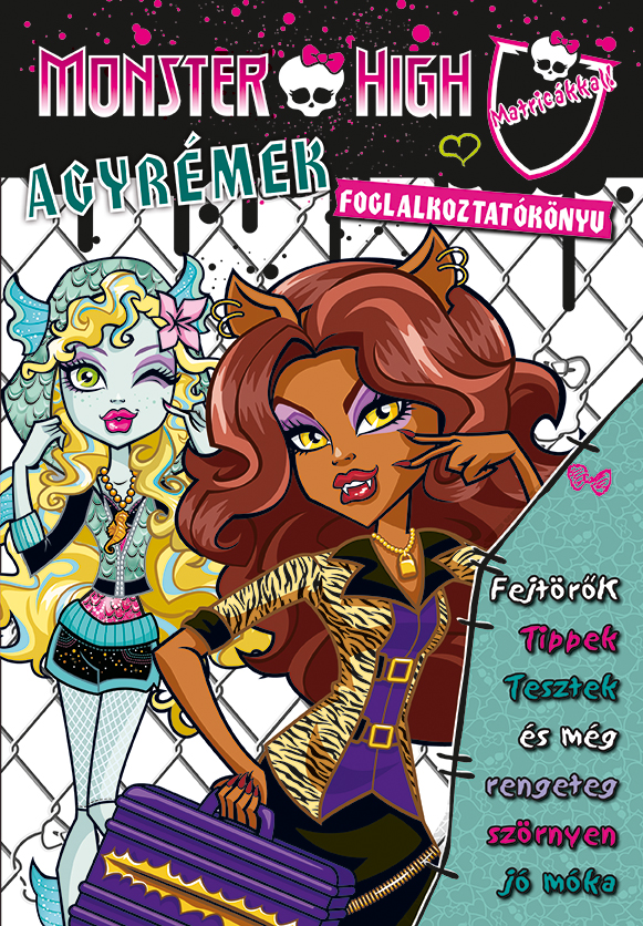 Monster High - Agyrémek foglalkoztatókönyv rémesen
