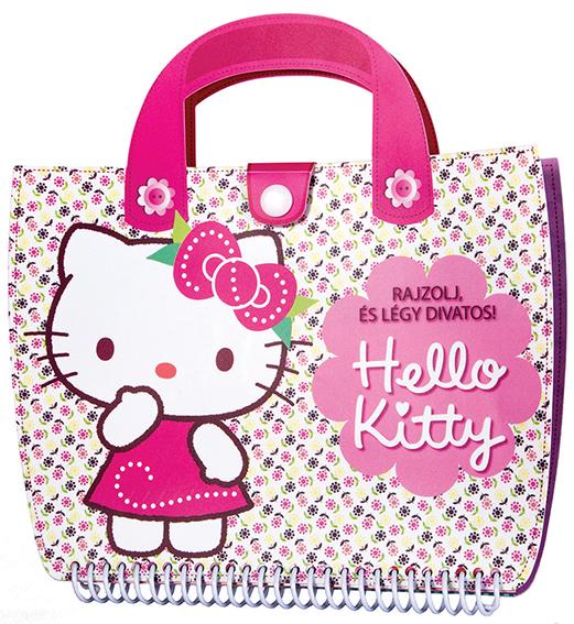 Hello Kitty - Rajzoljd és légy divatos!