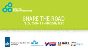 SHARE THE ROAD–rajz-, fotó- és videópályázat