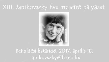 XIII. Janikovszky Éva meseíró pályázat