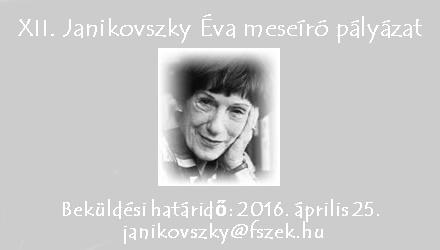 XII. Janikovszky Éva meseíró pályázat