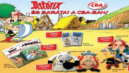 A két új Asterix a CBA hűségakciójában