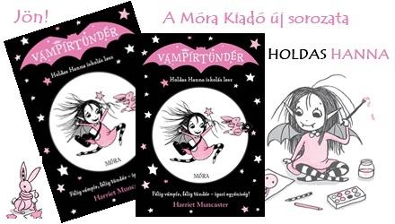 Holdas Hanna iskolás lesz - indul a Vámpírtündér sorozatunk