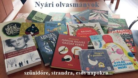 Olvasni mindig jó! Nyáron, szünidőben, strandon, esős napokon...