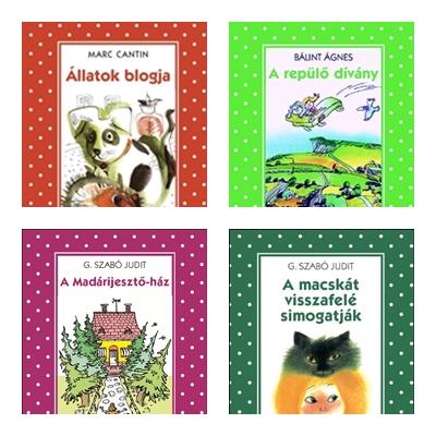 Pöttyös könyvek lányoknak