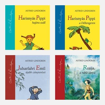Astrid Lingren könyvei