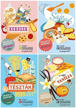 Sütni-főzni gyerekjáték! Megérkeztek az új gyerekszakácskönyvek