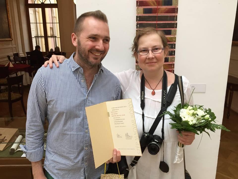 Szép Magyar Könyv 2015 Verseny - oklevelet kapott Laik Eszter: Abszurd bravúr celeb
