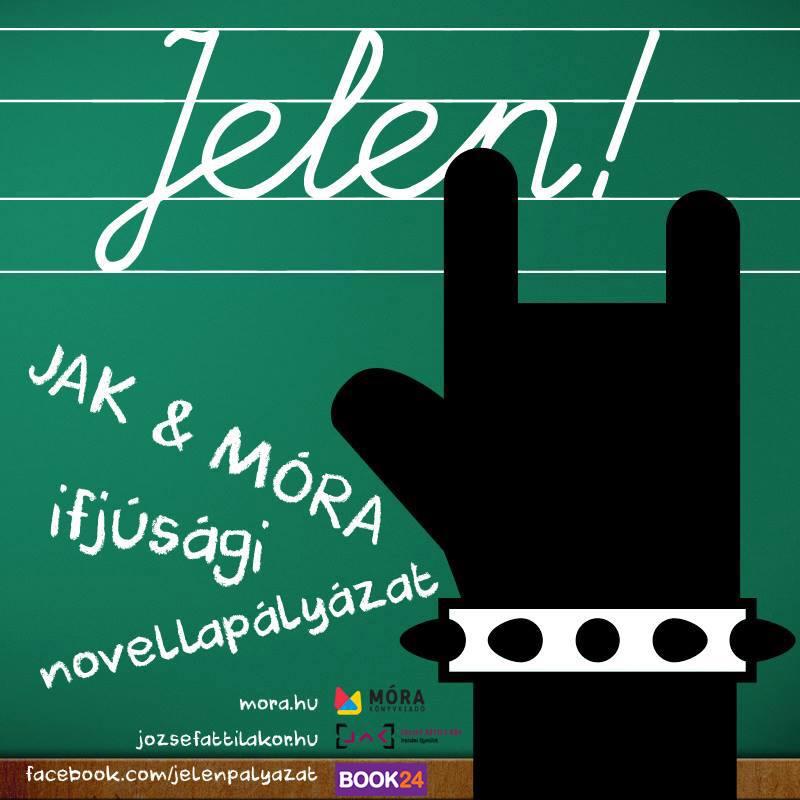 JELEN!  A József Attila Kör, a Móra Kiadó és a Book24 online könyváruház ifjúsági novellapályázata