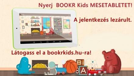 Mondj egy mesét és nyerj BOOKR KIDS MESETABLETET!