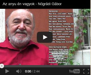 Nógrádi Gábor: Az anyu én vagyok - bemutató a Hevesi Gyula Színházban