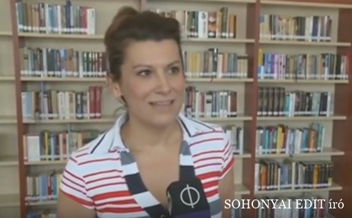 Sohonyai Edit bemutatkozó videója