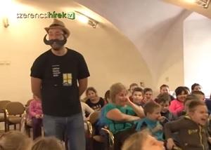 Vig Balázs: Három bajusz gazdát keres - könyvbemutató Szerencsen