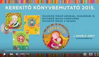 Kerekítő könyvbemutató - J. Kovács Judit