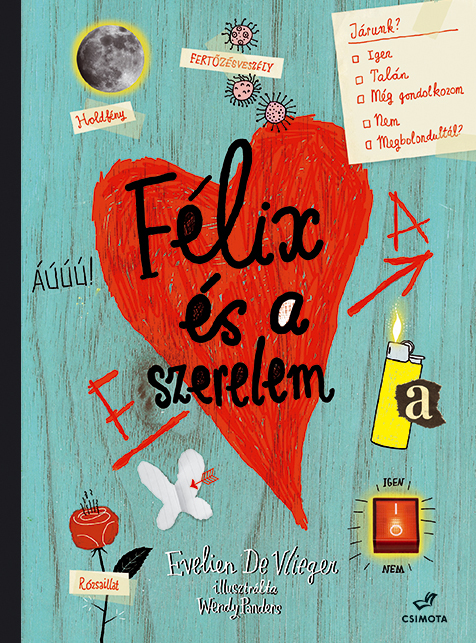 Félix és a szerelem (Csimota Kiadó)