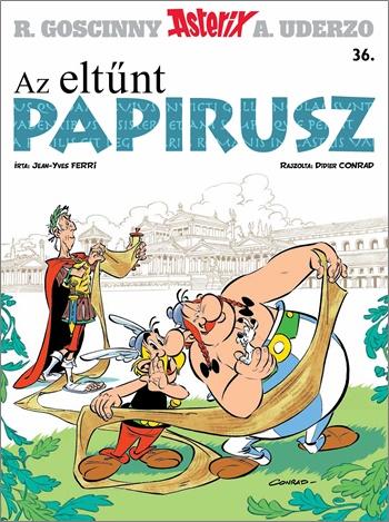 Asterix 36. – Az eltűnt papirusz