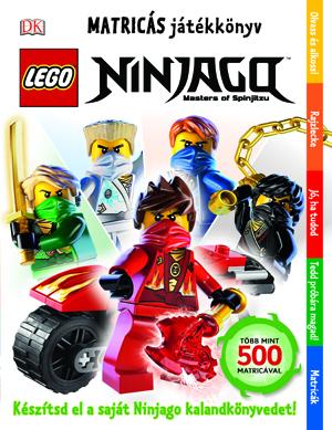 LEGO® Ninjago™ Matricás játékkönyv