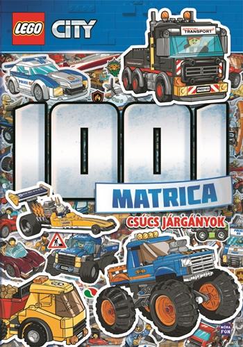 LEGO® City 1001 Matrica – Csúcs járgányok