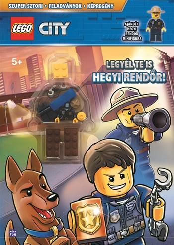 LEGO® City - Legyél te is hegyi rendőr! Ajándék hegyi rendőr minifigurával