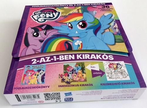 My Little Pony - Foglalkoztatókönyv és 2 az 1-ben kirakóskönyv