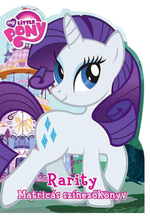My Little Pony - Rarity Matricás színezőkönyv