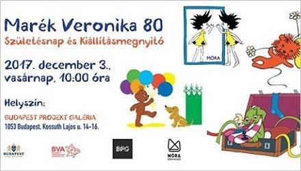 Marék Veronika 80 - Köszöntsük együtt Marék Veronikát a Projekt Galériában
