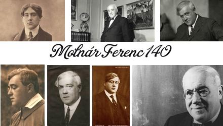 140 éve született Molnár Ferenc