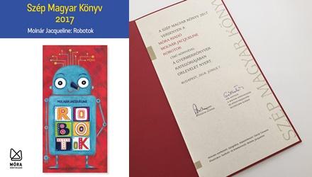 Robotok - A Szép Magyar Könyv 2017 Versenyben oklevelet nyert!
