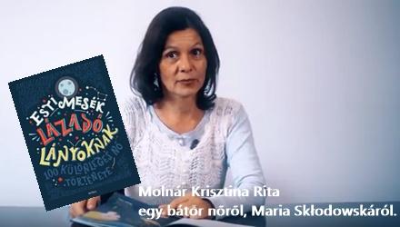 Lázadó lányok - Molnár Krisztina Rita ajánlója