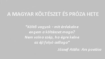 A magyar költészet és próza hete