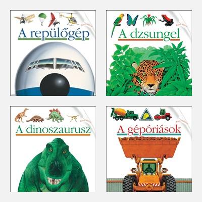 Kis felfedező zsebkönyvek fiúknak - ismeretterjesztés 6+