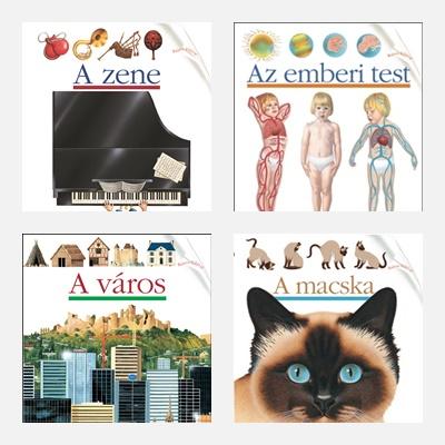 Kis felfedező zsebkönyvek lányoknak - ismeretterjesztés 6+