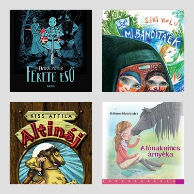 Kortárs ifjúsági regények 9+