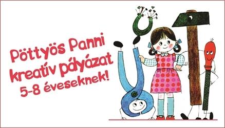 Pöttyös Panni kreatív pályázat 5-8 éveseknek!