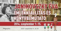 Janikovszky Éva-emlékkiállítás és könyvbemutató Kaposváron