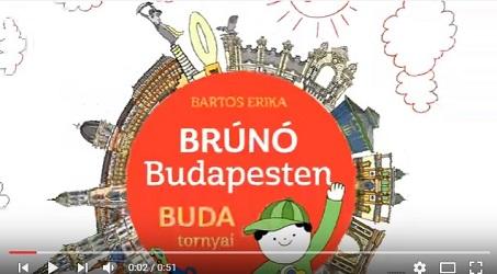 Bartos Erika - Brúnó Budapesten - Buda tornyai