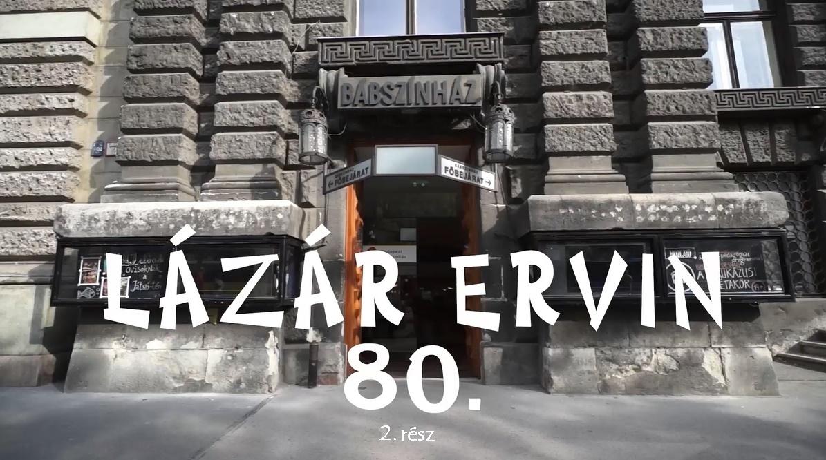 Lázár Ervin-születésnap a Budapest Bábszínházban - 2016.május 2. /2.rész